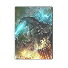 Godzilla Custom Sofa Bed Soft Throw Fleece Blanket image