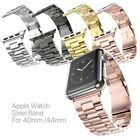 IWatch Apple Watch Series 4 40mm/44mm Stainless Steel Wrist Band Strap Bracelet image