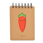 Cute Cartoon Top Spiral Notebook, Aixingyun Classic Notebook with Carrot Small x