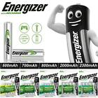 Energizer AA AAA Rechargeable Batteries 2000mAh 800mAh 2300mAh Pre Charged Ni-MH