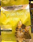 ARDEN GRANGE KITTEN : 400g, 2kg Hypoallergenic Grain Free bp Junior Dry Cat Food