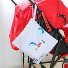 Reusable Baby Stroller Storage Hanging Diaper Bags Wet Dry Handle Nappy Wetbags