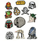 Star Wars Patch Fabric Badges Iron On Clothes Handicraft DIY Embroidered $2.4 AUD on eBay