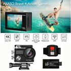 AKASO V50 PRO Waterproof 20MP Camera WiFi 4K Action Camcorder + Wireless Remote
