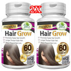 HERBAL HAIR GROW BOOST VITAMINS FAST GROWTH FASTER LONGER THICKER FULLER 120 PIL