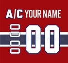 Montreal Canadiens Home Jersey Customized Number Kit un-stitched $34.99 USD on eBay