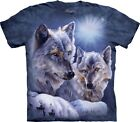The Mountain Unisex Child Equinox Wolves Animal T Shirt
