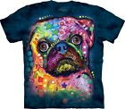 Russo Pug T Shirt Adult Unisex The Mountain