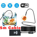 USB Endoscope & WiFi Endoscope Inspection Camera For iPhone Android MAC IOS PC