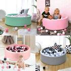 Baby Playpen Kids Balls Pit Pool Round Ocean Balls Safety Play Yard Home Outdoor