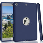 """For Apple iPad 6th Generation 9.7"""" Tough Rubber Heavy Shockproof Hard Case Cover фото"""