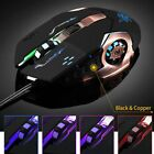 6 Buttons 3200 DPI LED Mechanical Wired PRO Gamer Gaming Mouse For PC Laptop KN