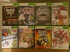 Lot of 19 Xbox 360 Games Dead or Alive Guitar Hero RockBand Dead Island Used!