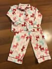 Fleece  Chistmas Pajamas Carters Size 5 Great Condition!