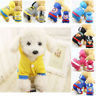XS XSmall Pet Dog Jumpsuit Warm Winter Soft Hoodie Sweater Apparel Coat Clothes