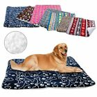 Warm Soft Fleece Dog Cat Bed Sleeping Blanket Coverd Mat For Small To Large Dogs