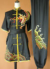 Silk Embroidery Changquan Tai chi Kung fu Suit Martial arts Shaolin Uniform