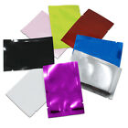 5x7cm Open Top Aluminum Foil Mylar Bags Colorful Seal Flat Storage Package Pouch