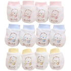 Внешний вид - 2 Pairs Newborn Boy Girl Infant Cotton Handguard Anti Scratch Mittens Gloves New