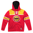 NEW Red Houston Rockets Mitchell & Ness NBA Sweatshirt Fleece Hoodie on eBay