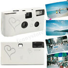 Pack of 10/20 Hearts Disposable Camera with Flash 36exp for Bridal Wedding