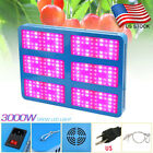 100-3000W LED Grow Light Full Spectrum Lamp for Greenhouse Indoor Plants Flower