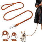 Light Soft Braided Leather Dog Lead Chihuahua Yorkshire Small Dogs Walking Lead