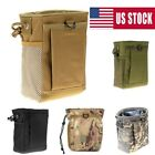 Military Tactical Airsoft Small Molle Mag DUMP Ammo Utility Pouch Bag Backpack