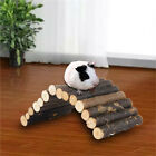 Flexible Fence Log Wooden Chew Play Toys For Small Pet Hamster Mouse Guinea Pigs