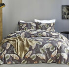 3D Print Leaves Duvet Quilt Cover Pillow Case Brdding Set Twin Queen King Size