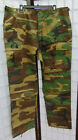 New SGS Woodland Camo Combat Cargo pants,size S,M,L,oversized w/adjustable waist