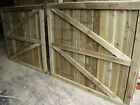 READY TO INSTALL WOODENDRIVEWAY GATES TANALISED TREATEDGARDEN GATES DOUBLEGATES