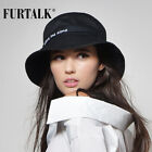 FURTALK Women Bucket Hat for Fishing Pesca Womens Panama Hat Beach Cotton Hat