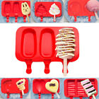 Silicone cute Ice Cream Molds Pop Ice Lolly Maker Frozen Mould Popsicle Mold New