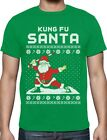 Kung Fu Santa Ugly Christmas Holiday Sweater T-Shirt Xmas Gift