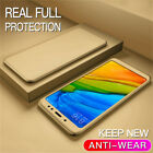 360° Full Cover Protect Case +Tempered Glass For Xiaomi F1 A3 A2 Lite A1 8 Lite