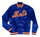 Authentic New York Mets Mitchell & Ness MLB Tough Seasons Satin Light Jacket on Ebay