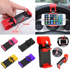 1x  Car Steering Wheel Clip Mount Holder Cradle Stand For Mobile Phone Gps New
