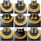 Indian Jewelry New Pearl Gold Ethnic Copper Necklace Varitions Fashion Set