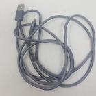 Nylon Braided Lightning to USB A Cable - MFi Certified iPhone Charger