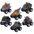 ZHMY Dinosaur Toys, Pull Back Dinosaur Cars, Creative Gifts for 3-12 Year Old