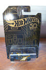 Hot Wheels 2018 50th Anniversary Black and Gold Complete Set of 6 Free Shipping