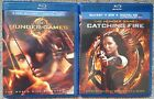 The Hunger Games and Catching Fire Blu-Ray Movie Discs