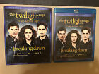 The Twlight Saga: Breaking Dawn Part 1 +  2 (Blu-ray) +SLIPCOVER -OOP MINT DISCS