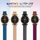 Luxury Women Starry Sky Watch Magnet Strap Buckle Fashion Star Watch Lover HOT image