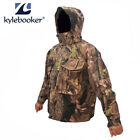 Fishing Breathable Waterproof Camouflage Ghillie Waders Jacket Hunting Clothing