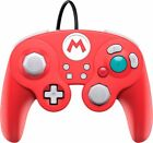 PDP - Wired Fight Pad Pro ControllerMario Edition for Nintendo Switch - Red