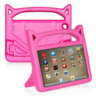 For Amazon Kindle Fire 7 7th Tablet Silicone Soft Case Kids Shockproof Kickstand