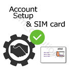 Unlimited AT&T SIM Card Data Plan $34.99 /month   No Throttling   No Contract