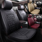 Universal 5-seats Car Seat Cover Cushion Chair Mat Non-slip Protector Luxury MWT on eBay